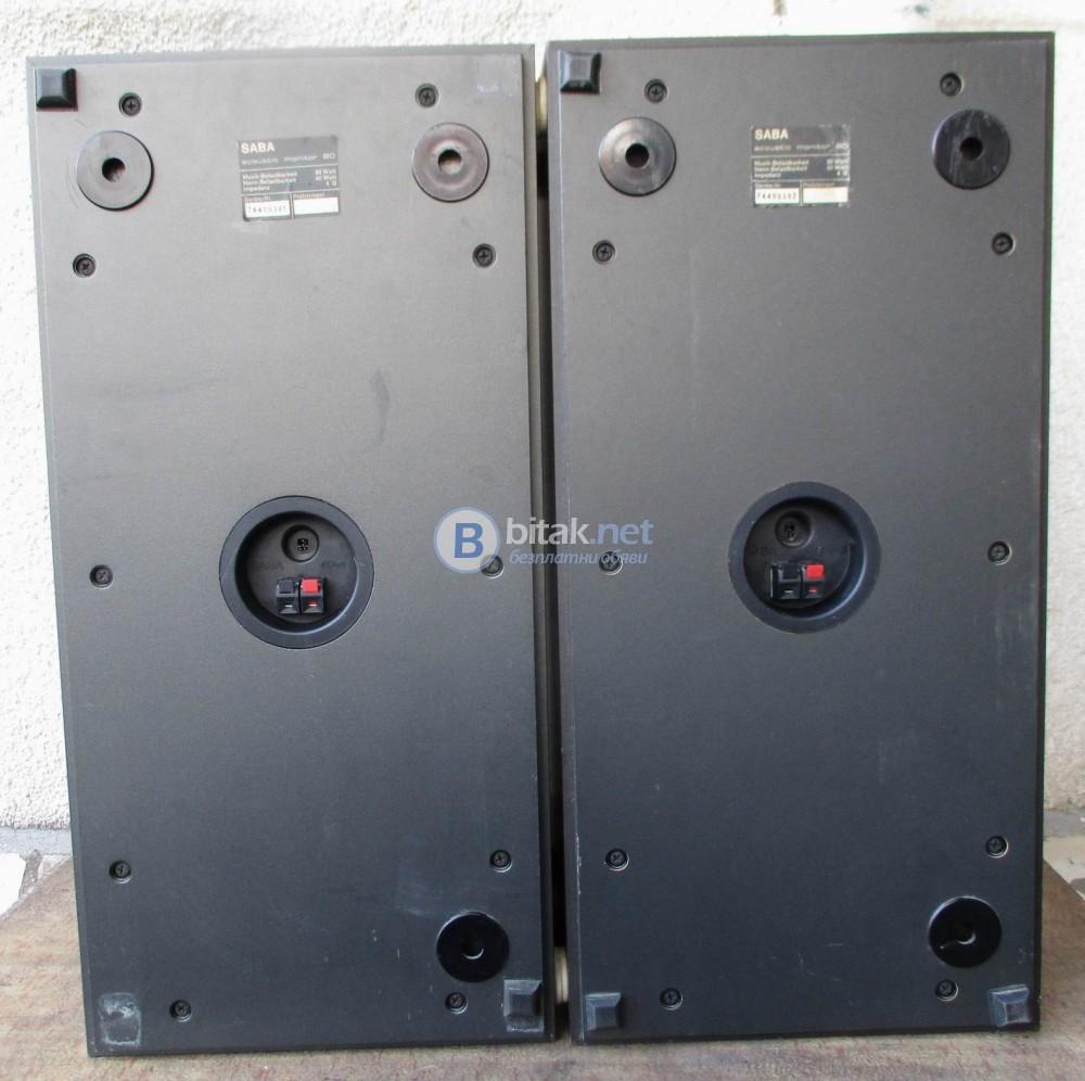 SABA Acoustic Monitor 80 - Качествени трилентови ОТ,затворен обем.