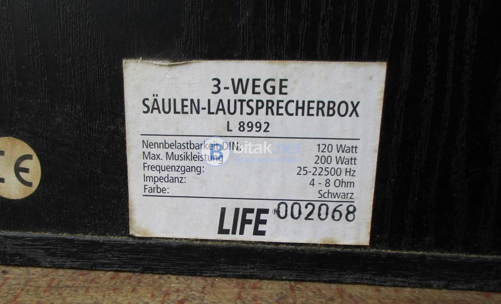 LIFE L-8992 – Фронтални трилентови ОТ,затворен обем.