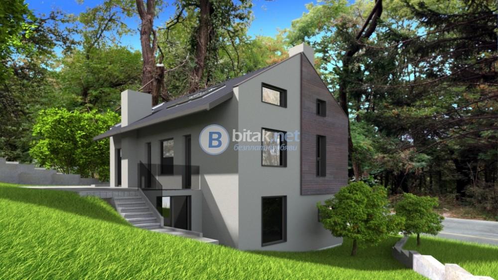 Продава парцел за еднофамилна къща в Бояна