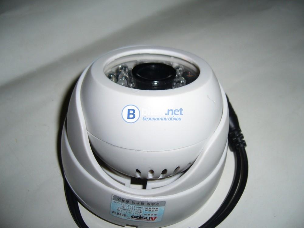 Вътрешна куполна камера за видеонаблюдение - НОВА