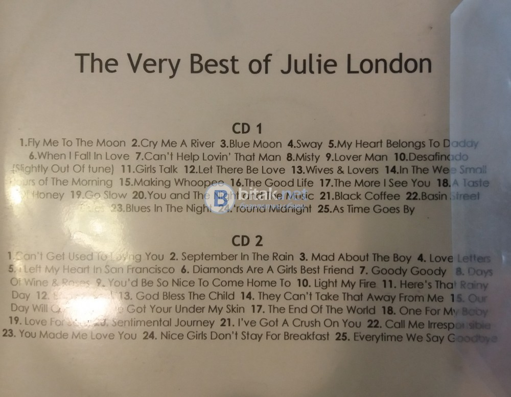 СД - The very best of Julie London -2  CD