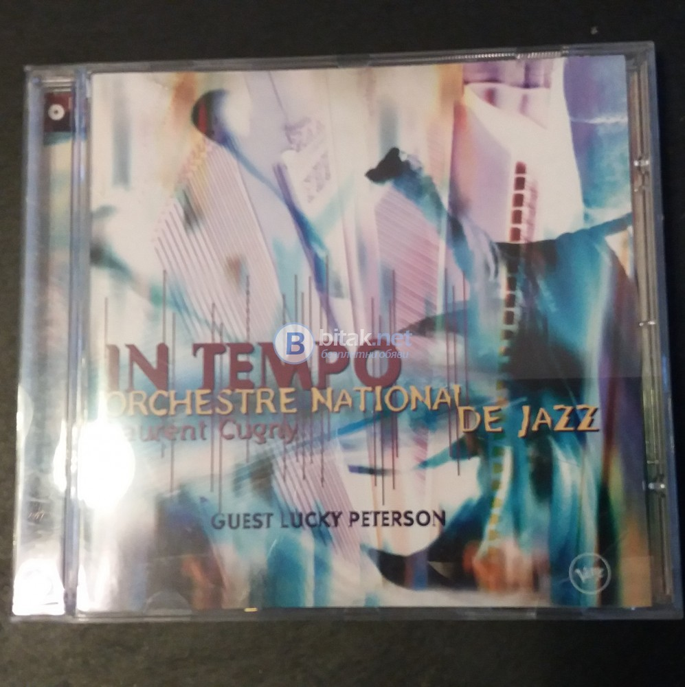 СД - In Tempo -Orchestre National De Jazz -Laurent Cugny