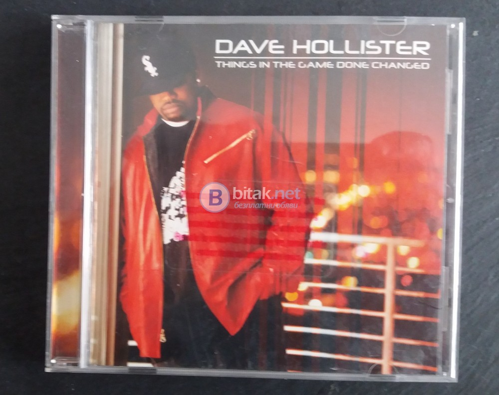 СД -DAVE HOLLISTER  THINGS IN THE GAME DONE CHANOBO