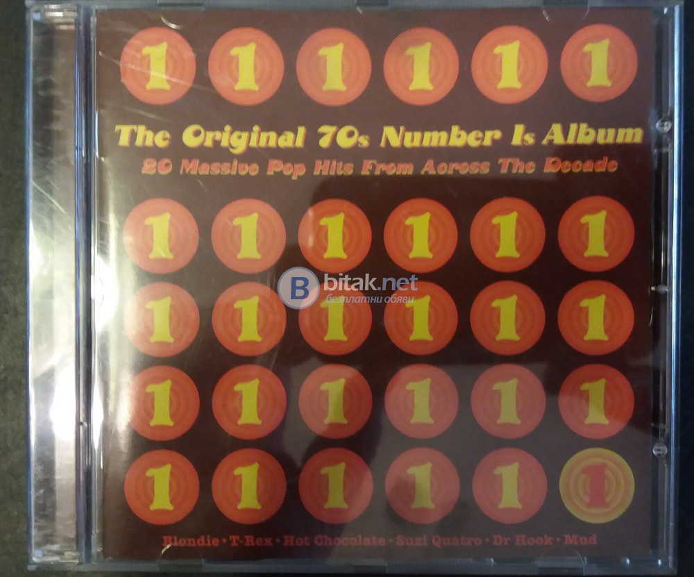 СД - The original 70-s Number 1s Album