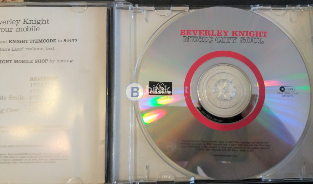 CD -  Beverly Knight - Music City Soul