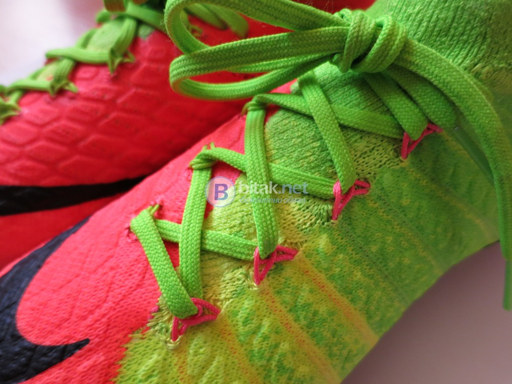 NIKE HYPERVENOM PHANTOM 3 DF - висок клас футболни обувки с чорап, номер 36.5