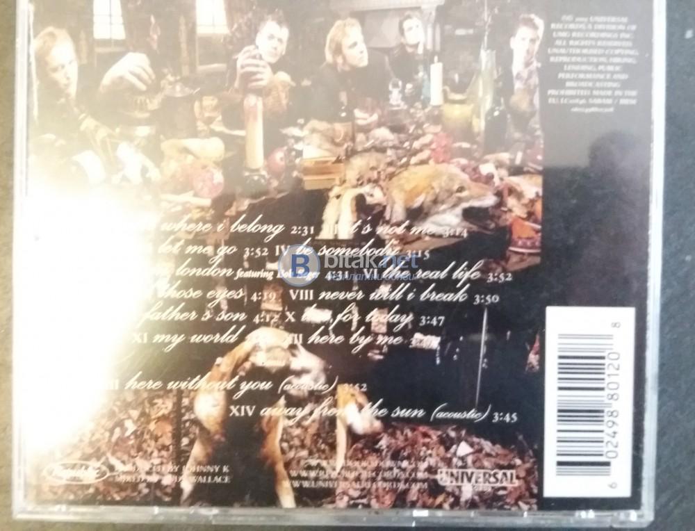 CD 3 DOORS DOWN - SEVENTEEN DAYS - СД