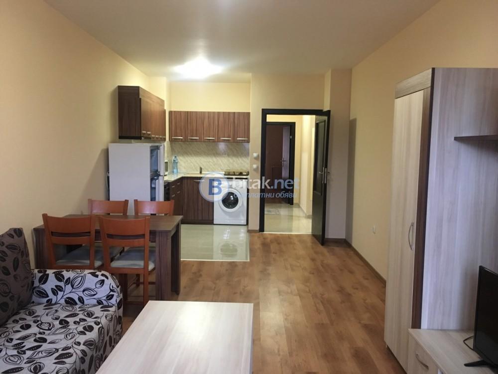 Двустаен обзаваден апартамент
