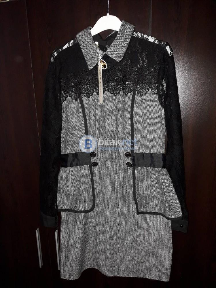 ЧИСТО НОВА дамска рокля с дантела, закупена от Англия!!!