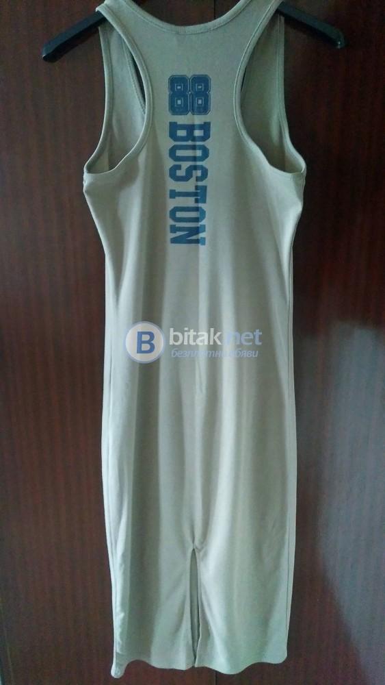 Като нова!!! Спортна лятна рокля.