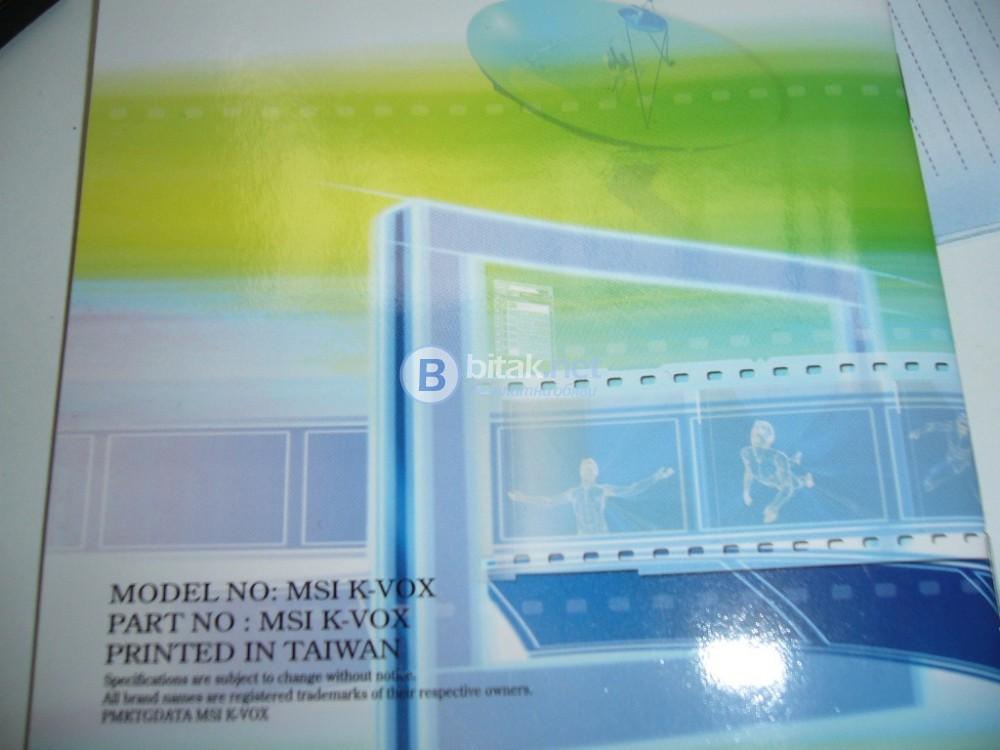 MSI - Цифров ТВ тунер-декодер за компютър-лаптоп, DVB-T, USB