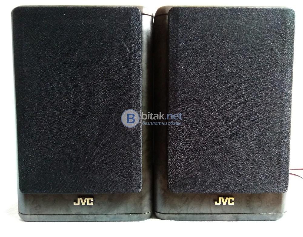 JVC SP-UXT100H , страхотни малки колонки с фулрейндж говорители , 2х20 вата