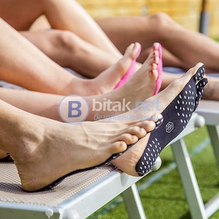 Защитен стикер стелки лепенки за стъпала подметка за боси крака невидими обувки