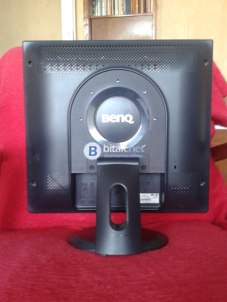 """Продавам монитор за компютър, марка -  """"BENQ"""",  модел -  """"Q7C4""""."""