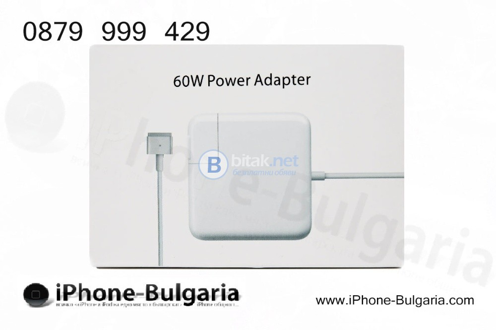 Оригинални зарядни за всички модели Apple MacBook: Air, Pro