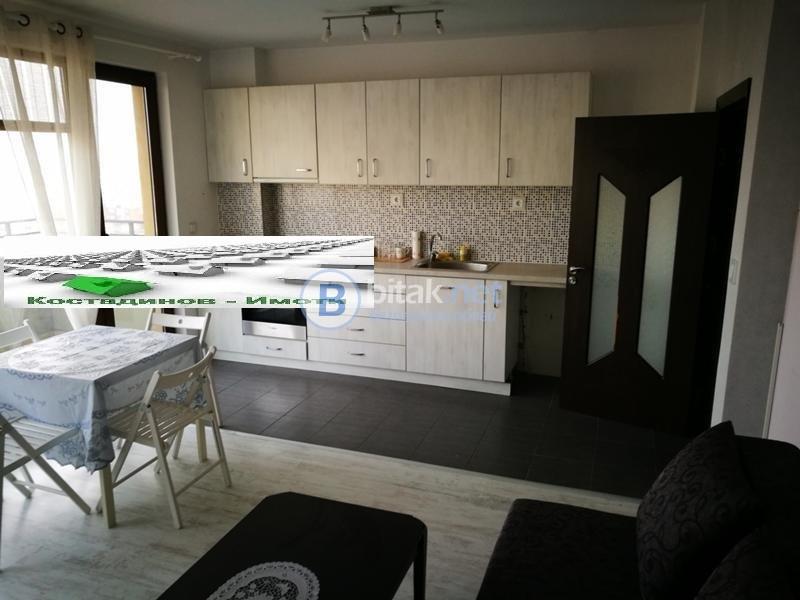 Тристаен обзаведен апартамент -Тракия