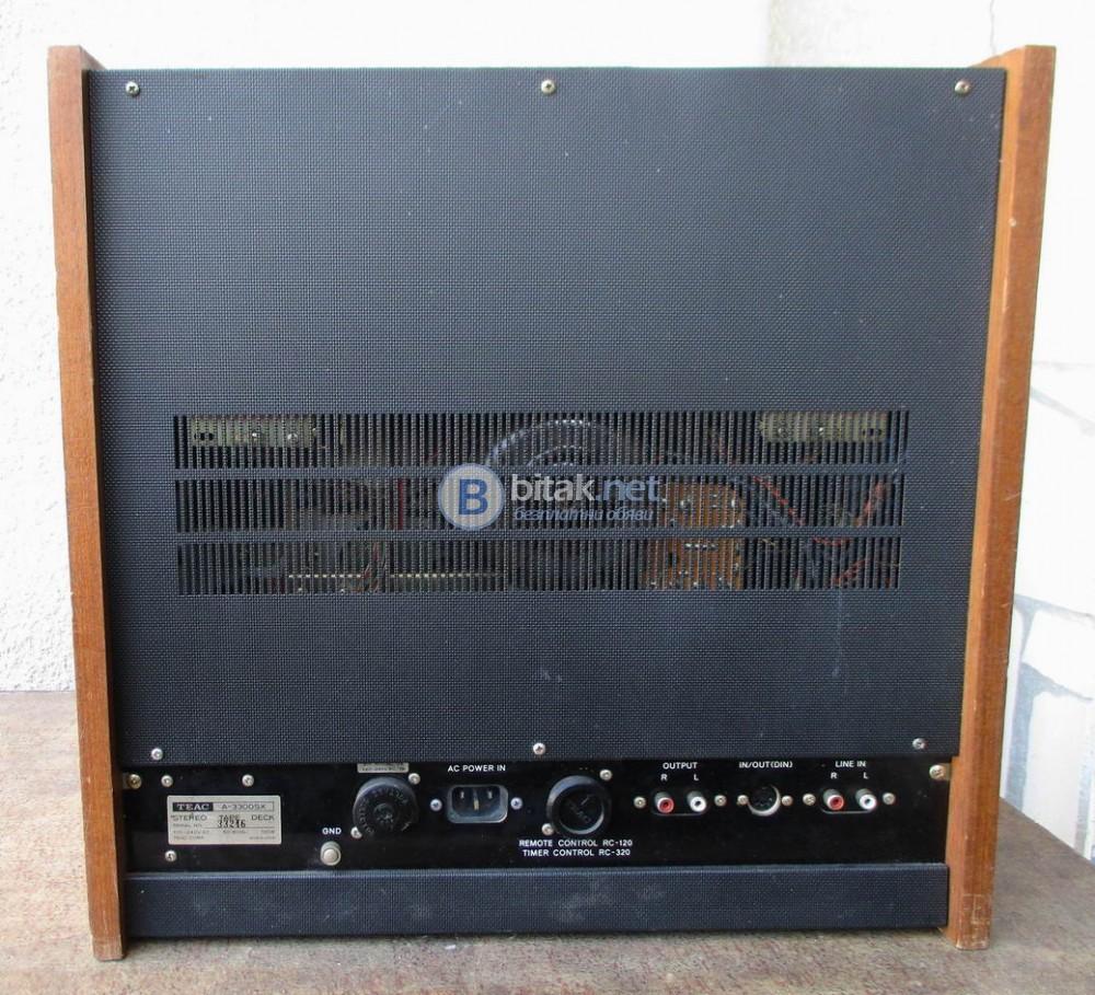 TEAC A-3300SX – 4 писти, 3 мотора.
