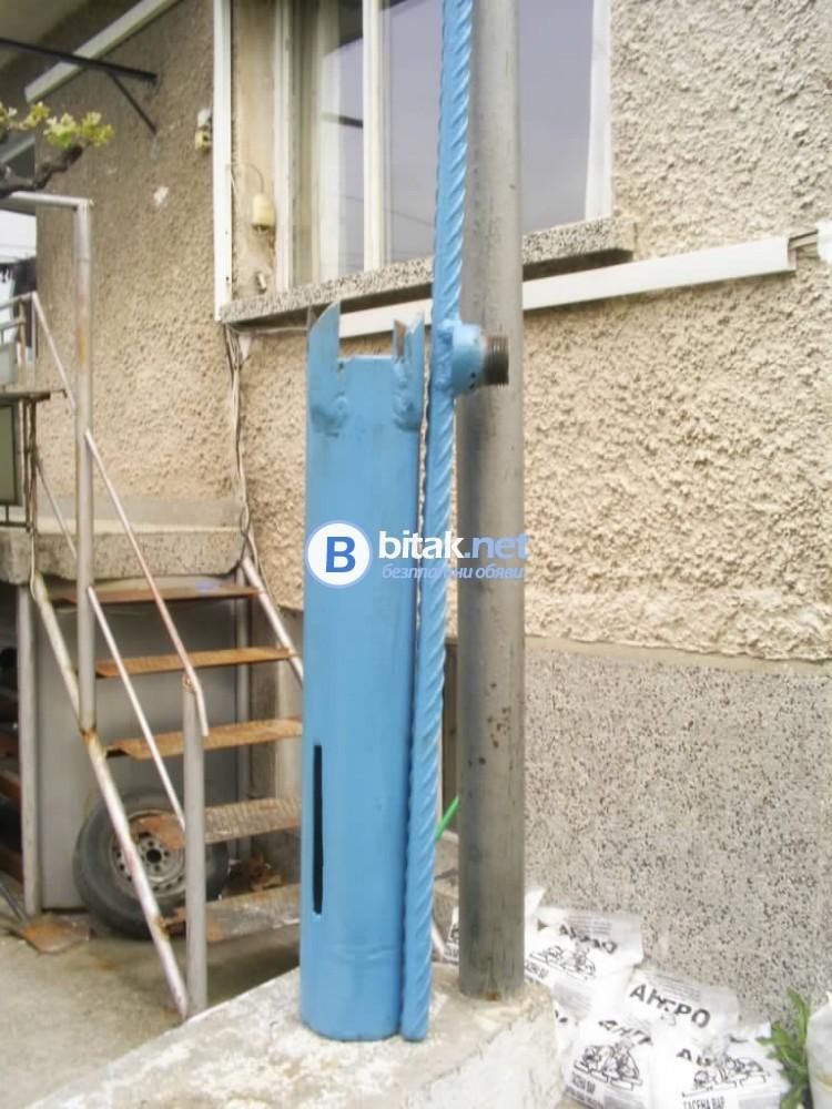 Ръчна сонда за  откриване  на вода и полагане на тръби