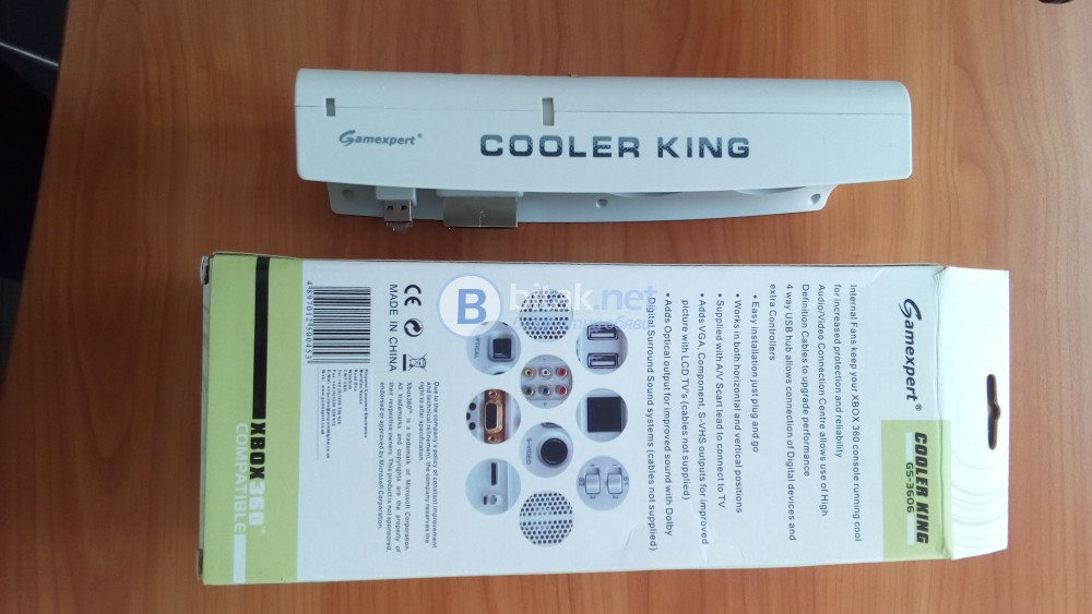 XBOX 360 Cooler King GS- 3606