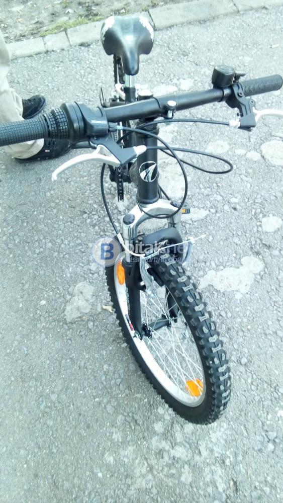 Велосипед MTB 20 инча с бързо освобождаване на предното колело