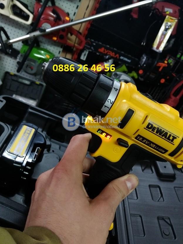 Винтовер DeWalt 18V нов с две батерий