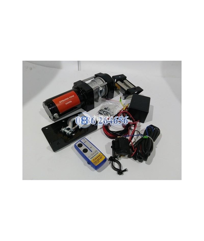 Електрическа Лебедка StongMax 3000lb / 1360кг