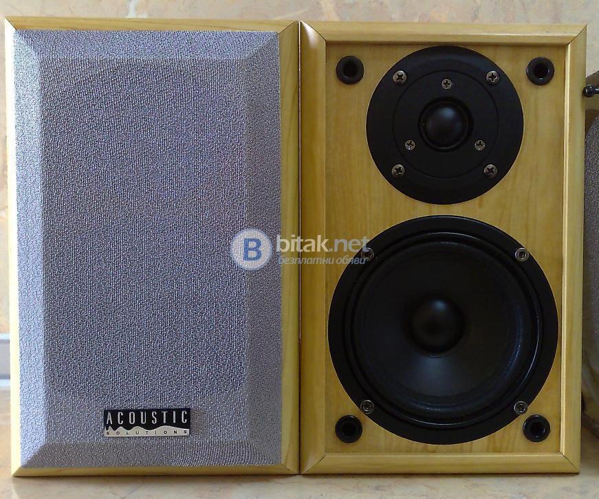 Acoustic Solutions AV20 , 2х90 вата , английски колонки