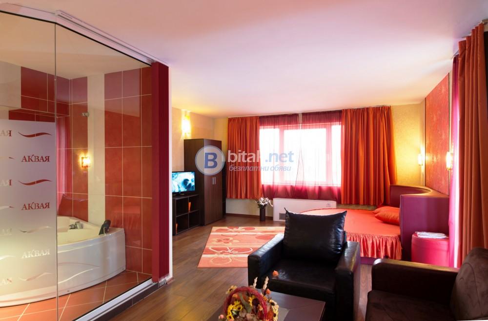 Отпуснете се в нашите луксозни ВИП апартаменти в хотел Аквая***