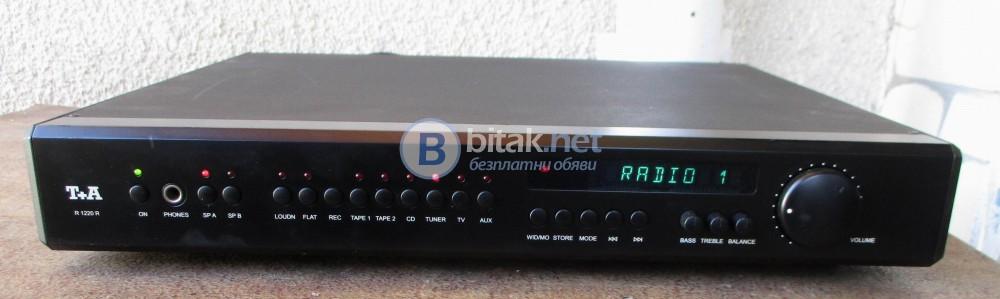 T + A R-1200R - Хай Енд стерео ресивър на фирмата T+A Elektroakustik.