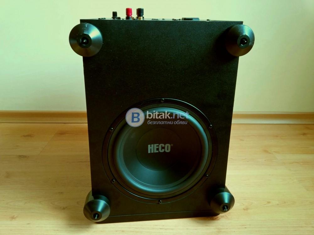 HECO Vogue 510A , мощен активен субуфер , 110 вата , 25 Hz