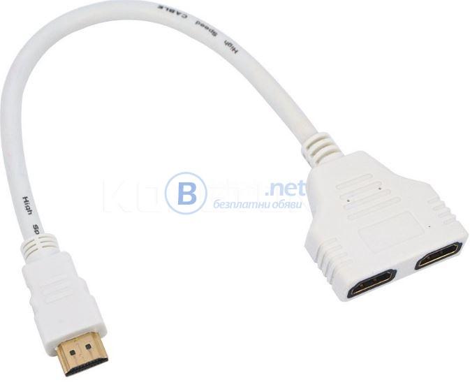 HDMI сплитер 1 to 2 TV HDTV
