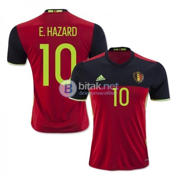 Еден Азар 10 - Белгия титулярни екипи