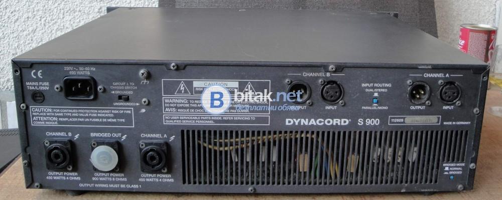 DYNACORD S900-Мощно и качествено стъпало.