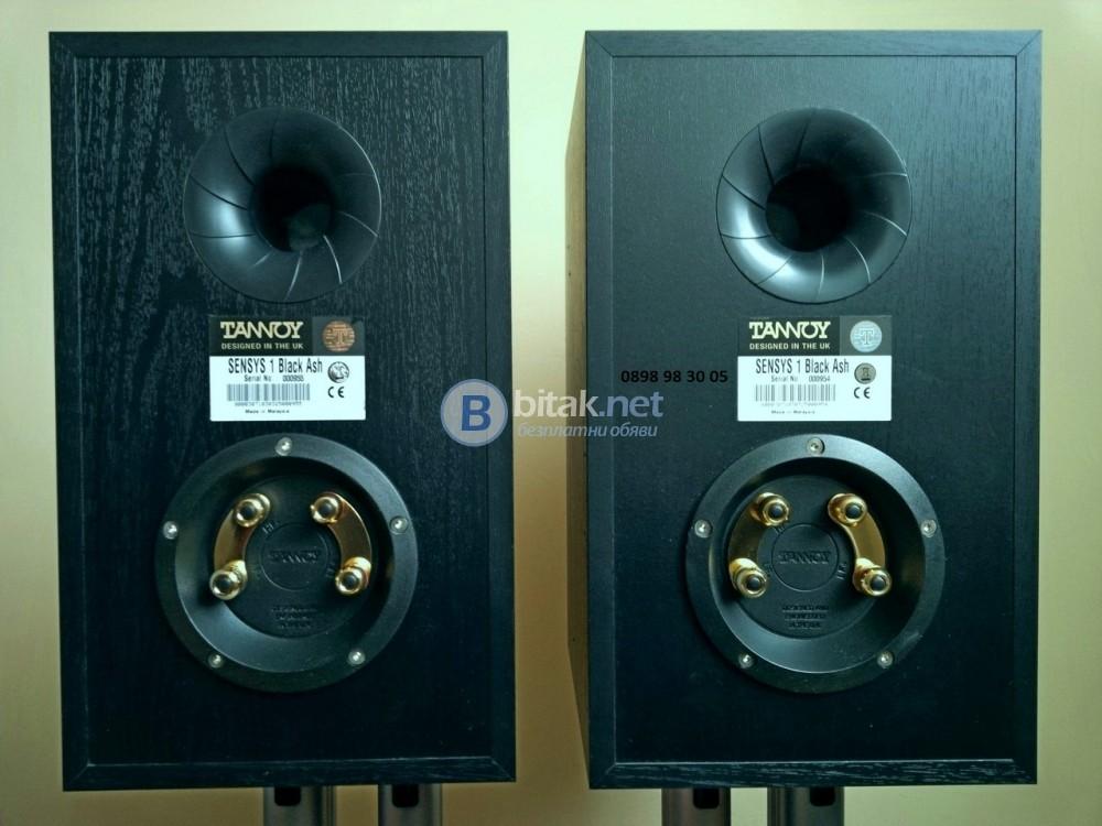 TANNOY SENSYS 1 , страхотни английски тонколони , 2х100 вата , 49 Hz - 51 kHz , 14 кг.