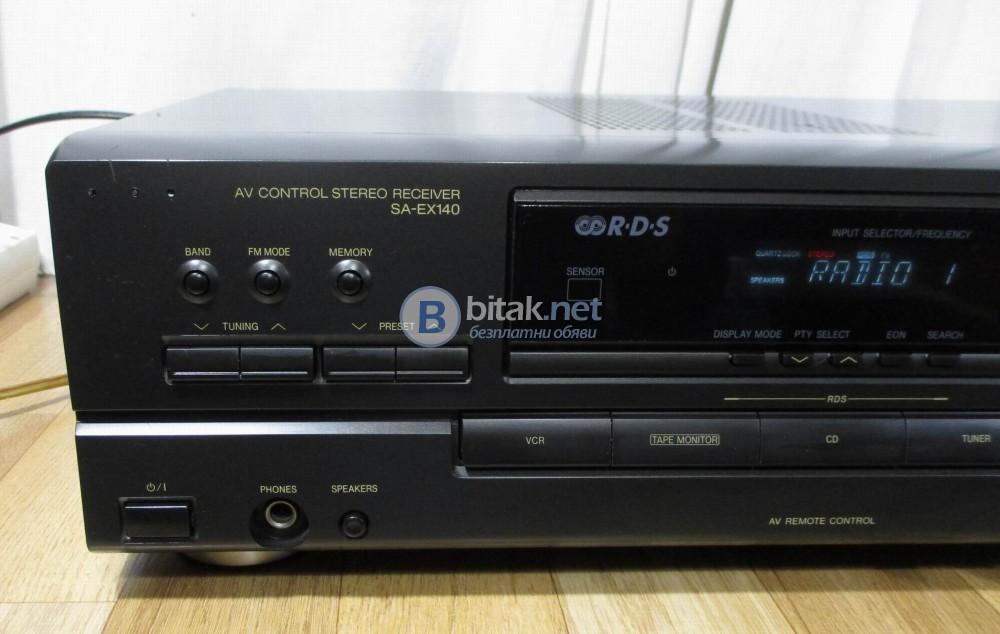 TECHNICS SA-EX140 – Стерео ресивър с RDS.