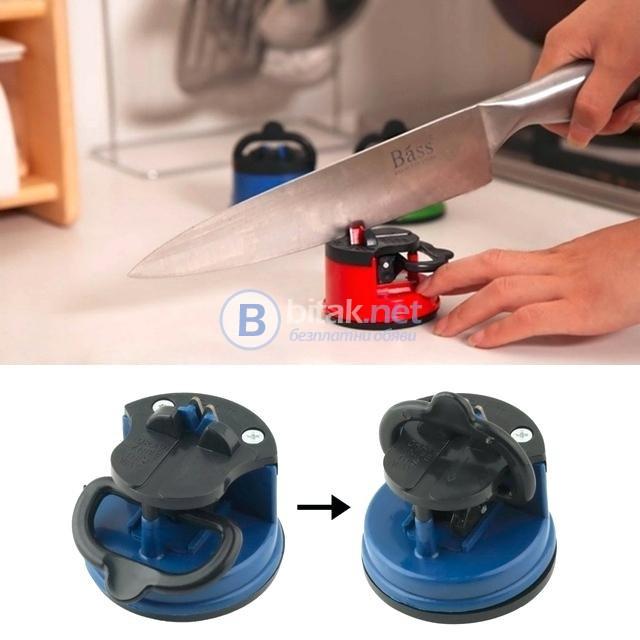Точило за ножове ръчен уред за наточване на нож с вакумно закрепване
