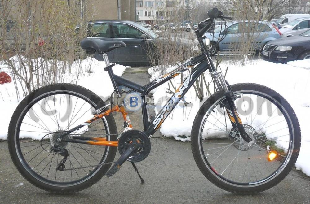 "Велосипед/колело SPRINT PARALAX 26"", стоманена амортисьорни рамка и вилка, 18 ск, перфектен"