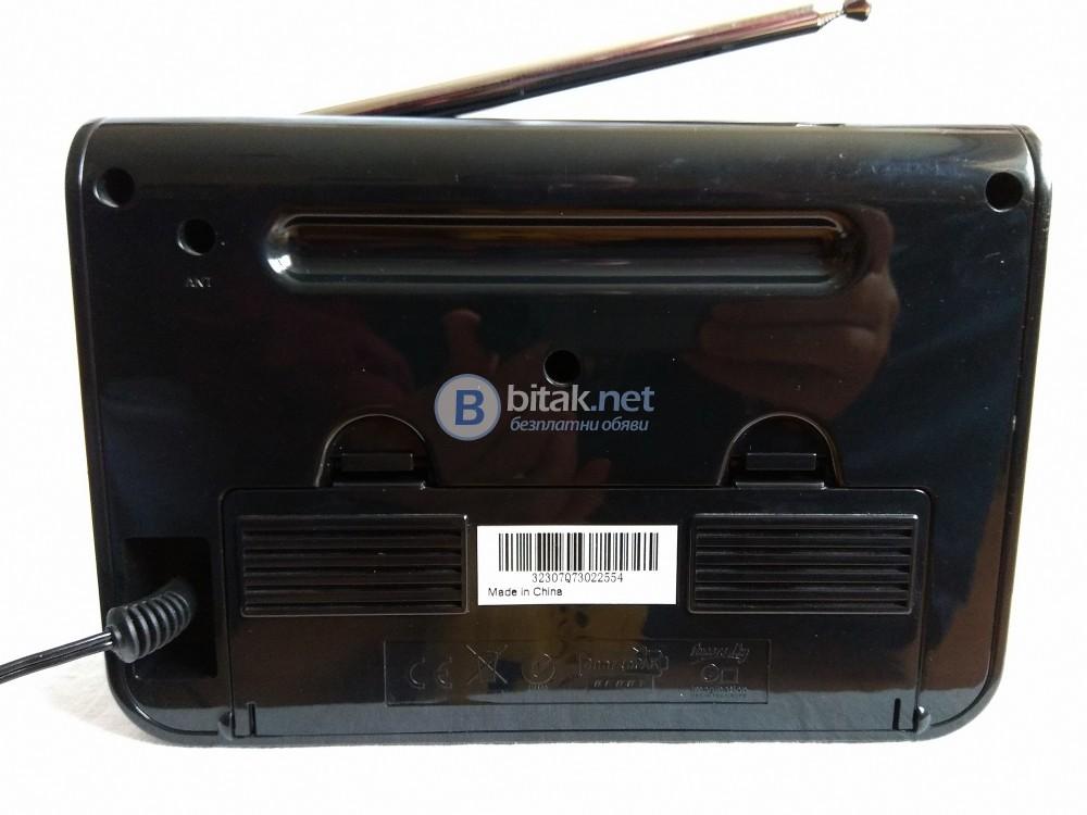 PURE ONE TALK SPORT , английско дизайнерско DAB/FM/RDS радио с много екстри