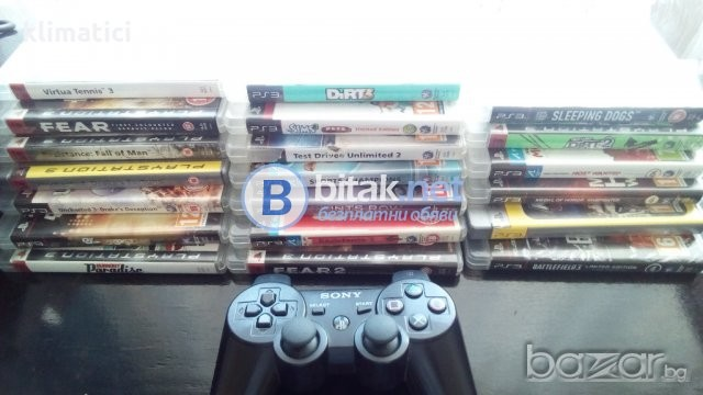 Playstation 3 + 20 games