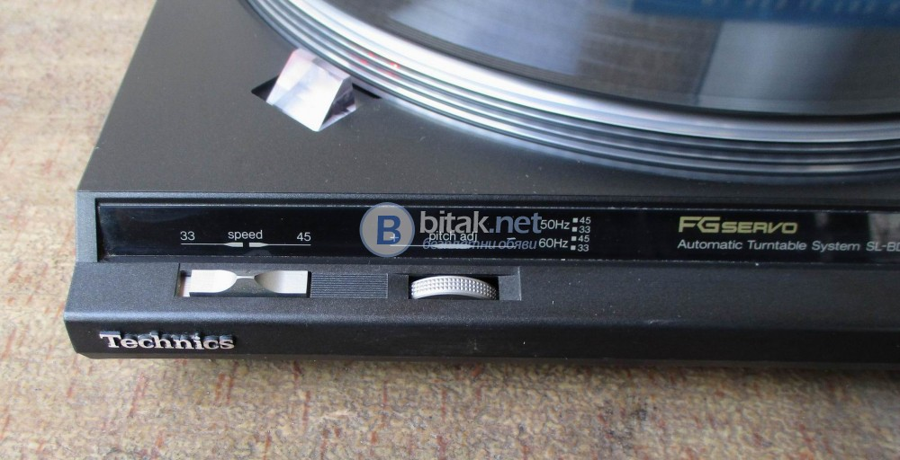 TECHNICS SL-BD 3 – Автоматичен белт драйв.