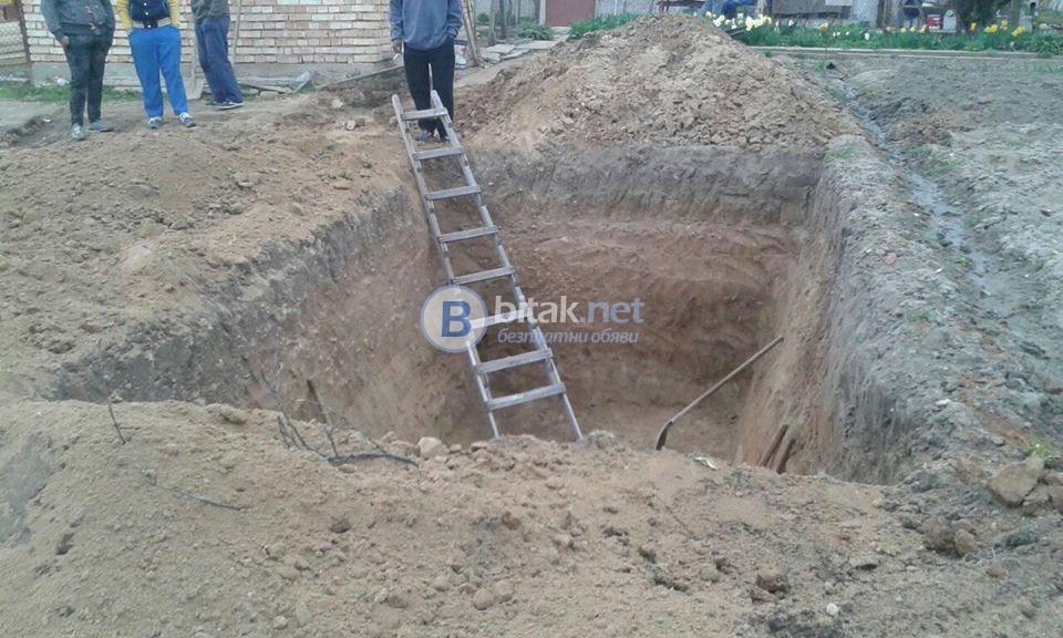 Копаене на септични ями Почистване кладенци 0898998080