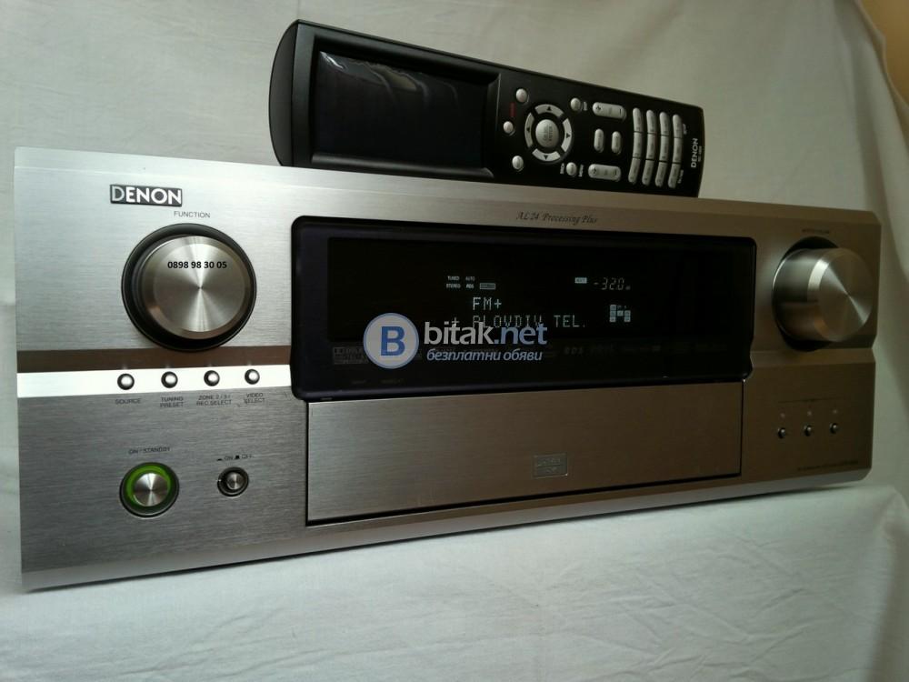 DENON AVR-3806, 7.1 канален AV ресивър с HDMI, 7х160/120 вата(6/8 ома), $1200 като нов