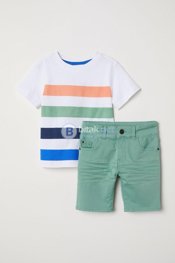 Сет от тениска и къси панталони