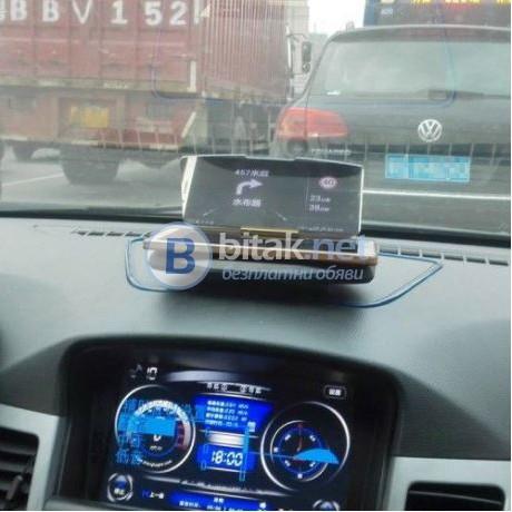 Поставка проектор за автомобил за проекция на навигация на стъклото