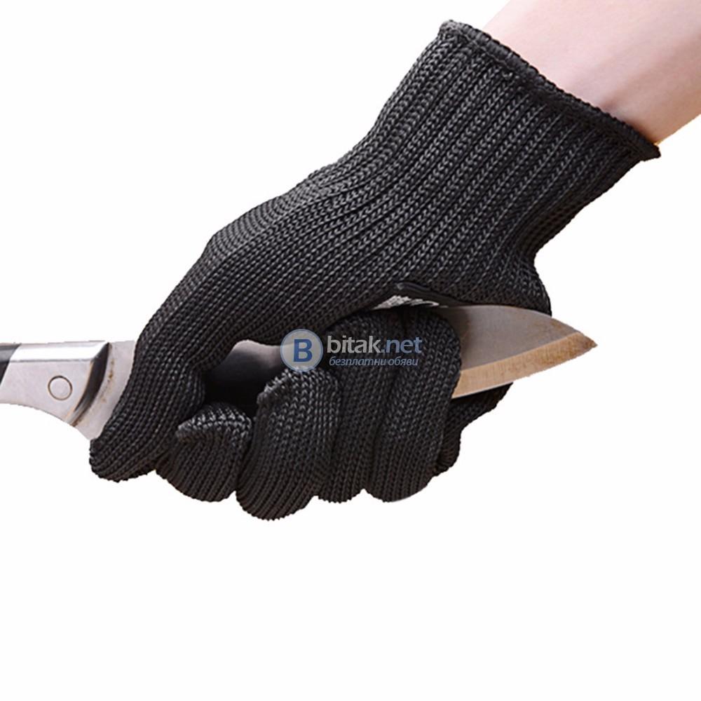 Чифт защитни ръкавици за лов риболов транжиране обезкостяване