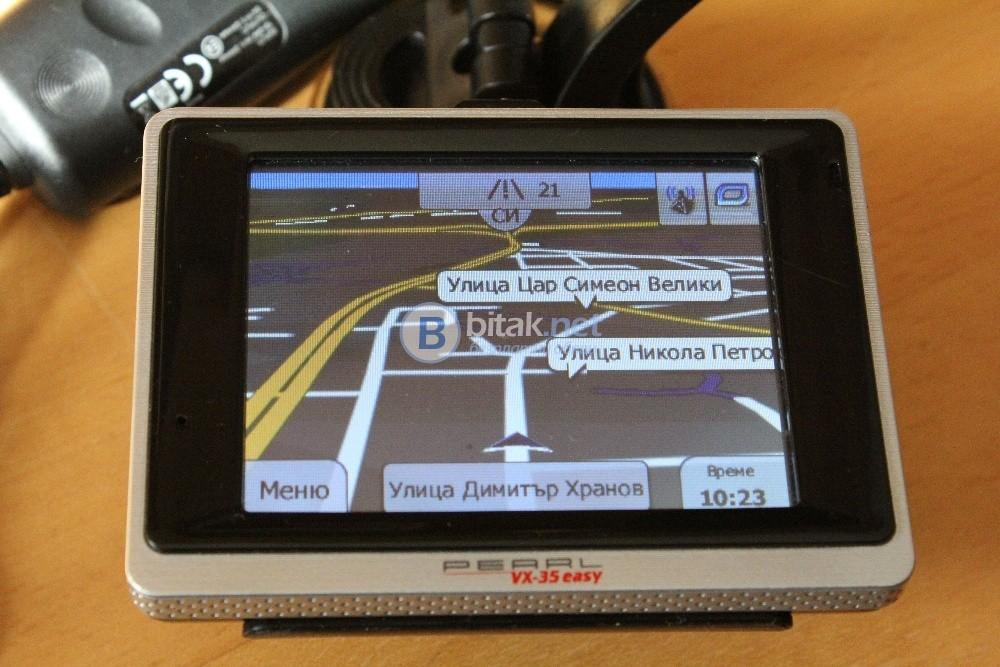 Навигационна система PEARL VX-35 Easy Europe 2018