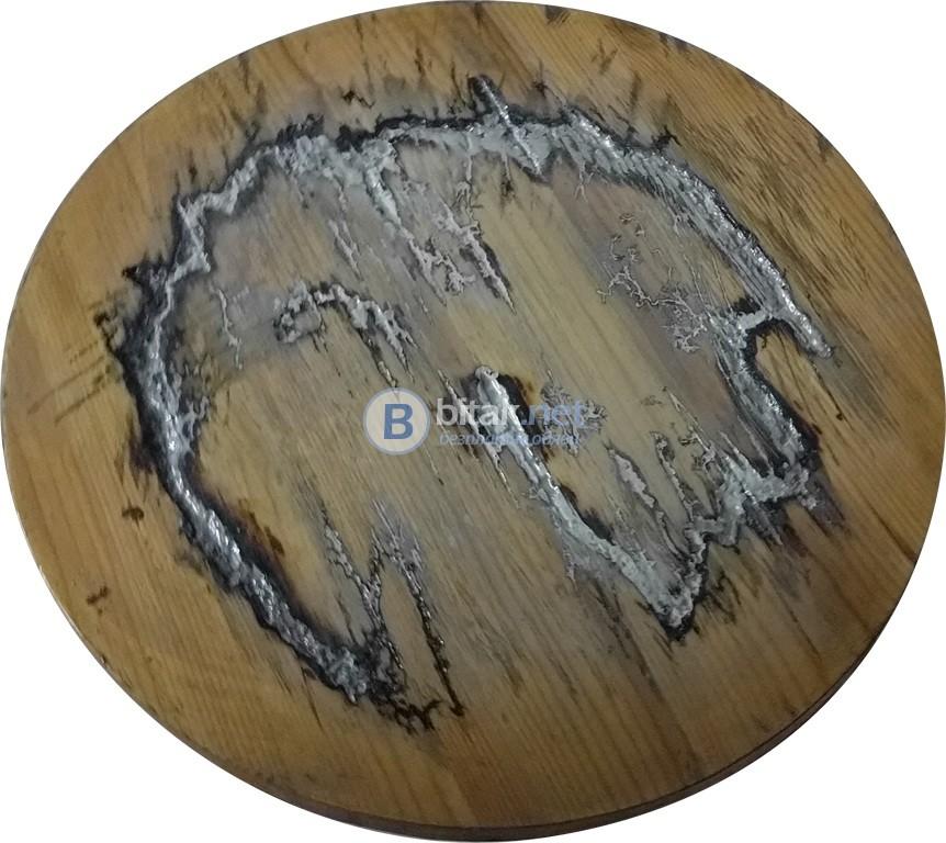 Дървени плотове