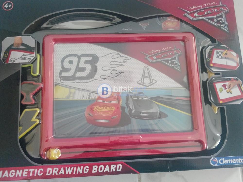 Интерактивна игра за деца над 4 години - колите