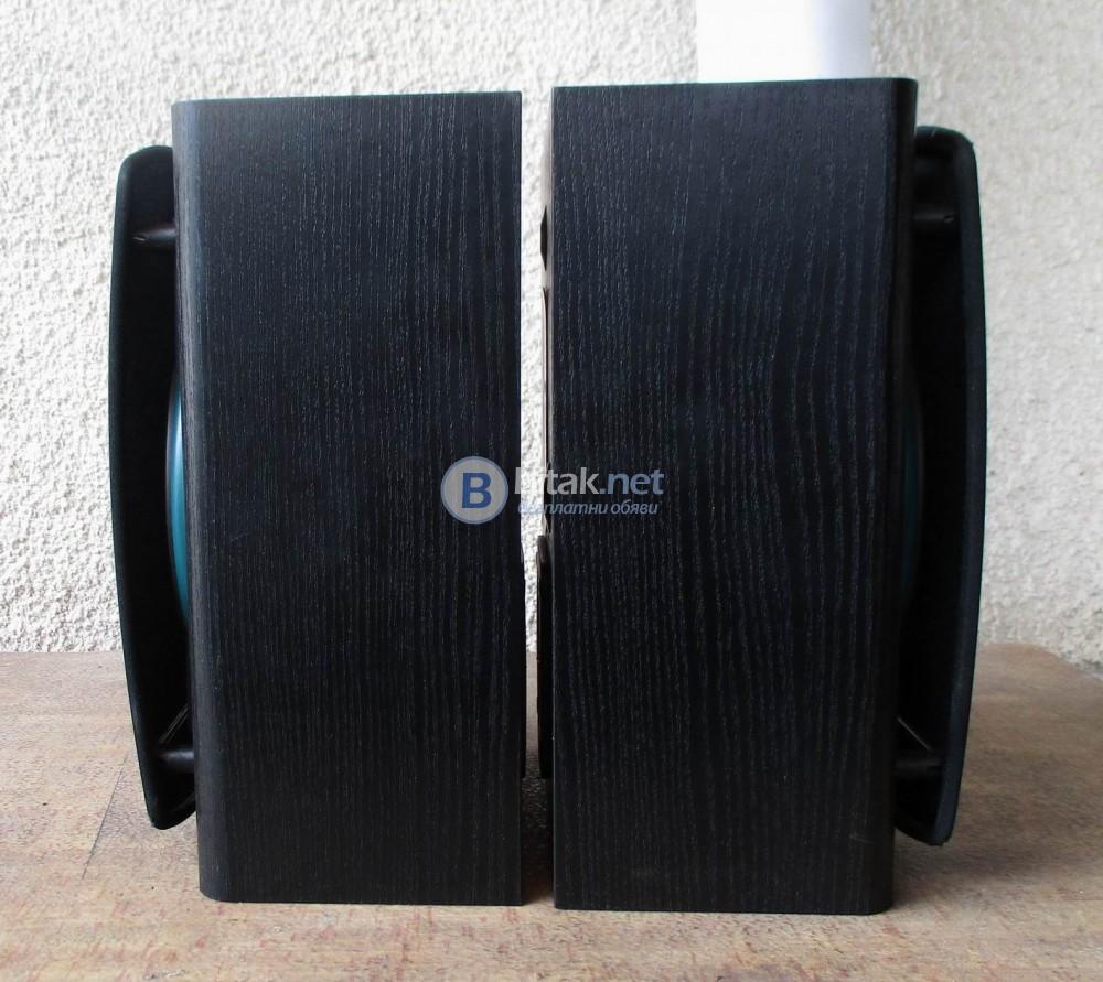 JBL LX-1 rear – Букшелф колони,затворен обем.