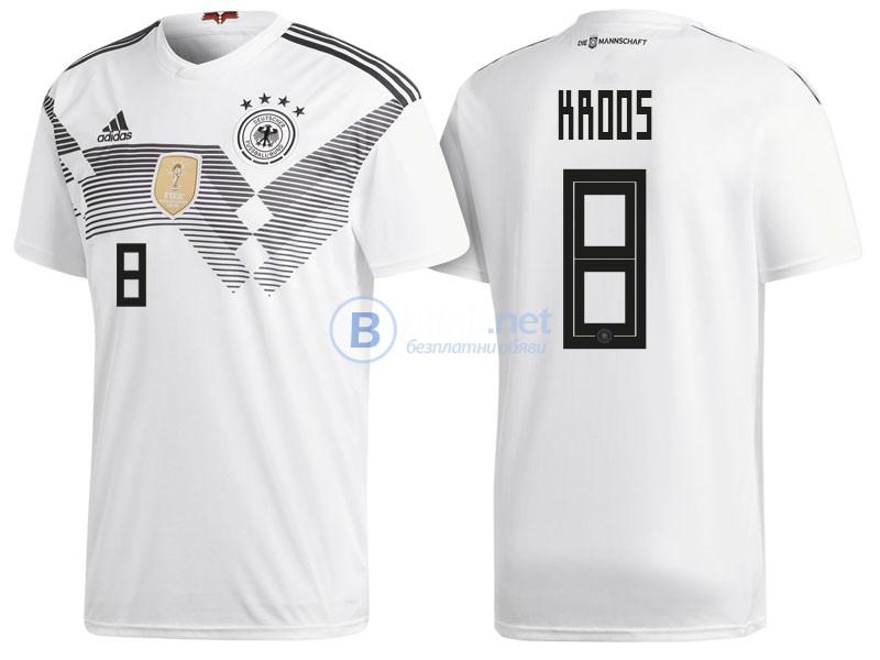 Тони Крос 8 - Германия титулярни екипи